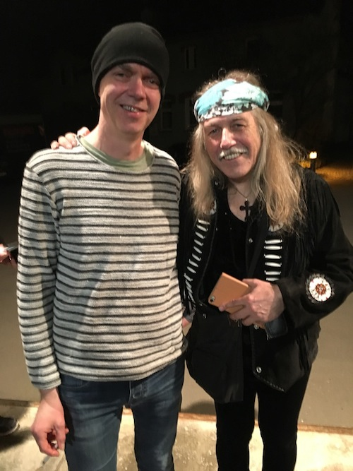Mads and Uli Jon Roth